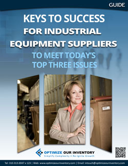 Keys to Success for Industrial Equipment Suppliers to Meet Today's Top Three Issues