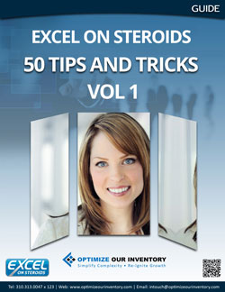 Excel on Steroids Tips and Tricks Vol 1