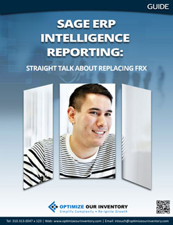 Sage ERP Intelligence Reporting: Straight talk about replacing FRx®